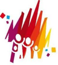 Logo Famiglia, festa e lavoro